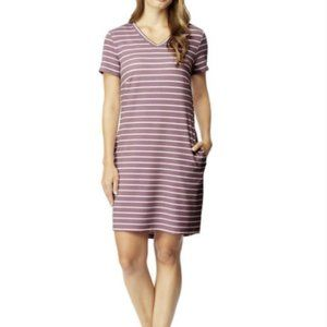 32 Degrees Cool Purple White Striped Dress XXL